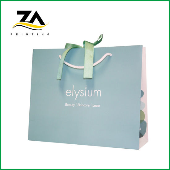 Factory Customized Fashion Printable Paper Bag Gift Packaging