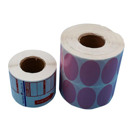 Self-Adhesive Paper Roll Self Adhesive Label Custom Size