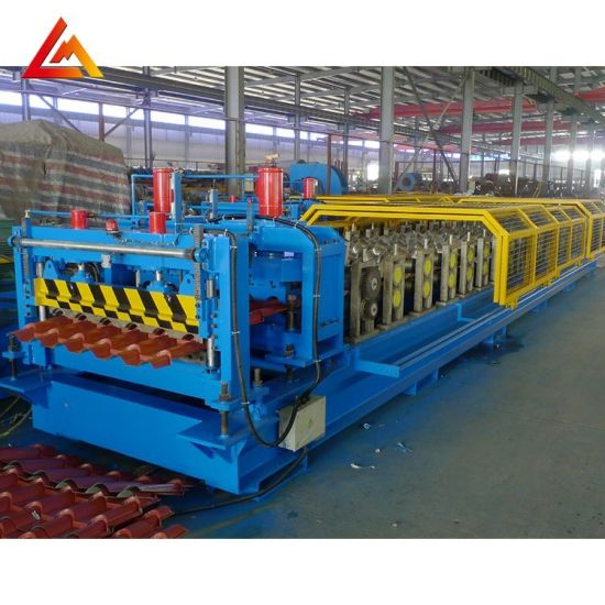 High Grade Profile Making Corrugated and Trapezoidal Roof Tile Roll Forming Machine