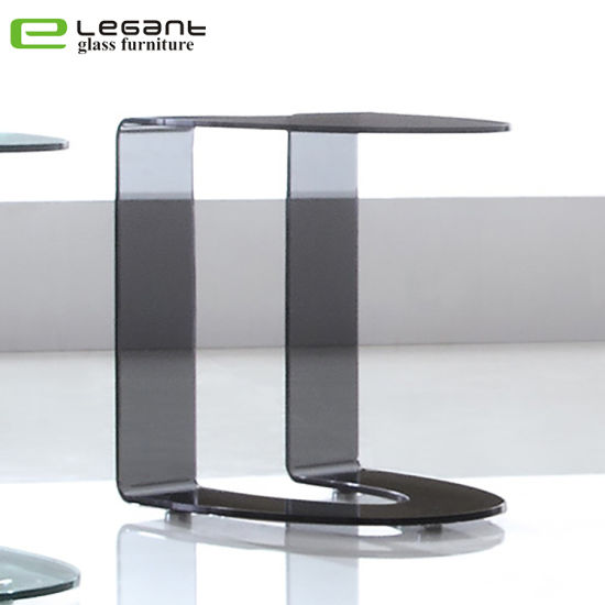 Awe Inspiring Cheap Curved Grey Color Glass Sofa Side Table Price Onthecornerstone Fun Painted Chair Ideas Images Onthecornerstoneorg