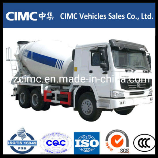 Sinotruck HOWO 6X4 Concrete Mixer Truck pictures & photos