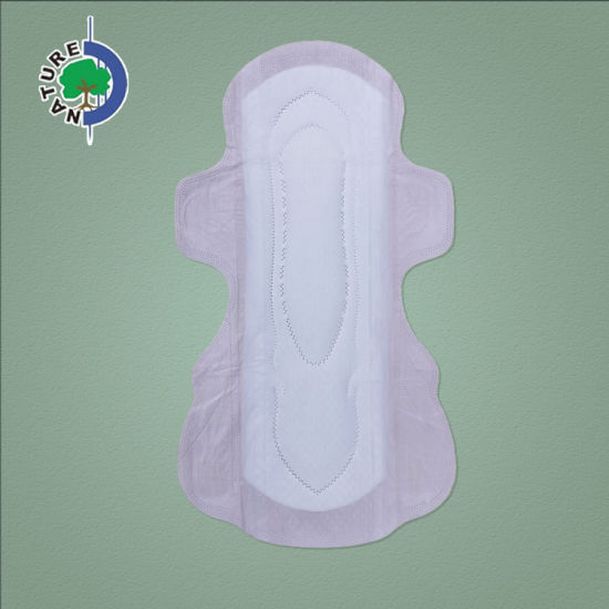 OEM Brand Free Sample Pink Color Sanitary Pads with Four Wings