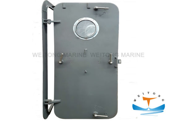 A60 Fire Fireproof Ship Boat Marine Hand Wheel Stainless Steel Watertight Airtight Door Air Tight Door