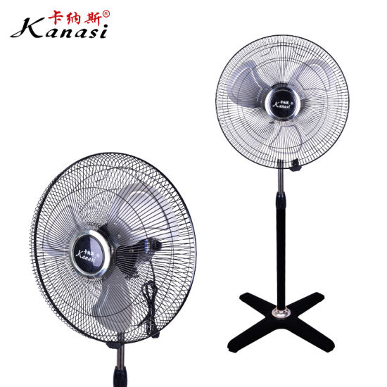 Ce Electric ODM Low Noise 18 Inch Stand Fan with Aluminum Blade for Home Appliance