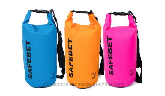 Wholesale Outdoor Ocean PVC Waterproof Dry Bag with Shoulder Strap