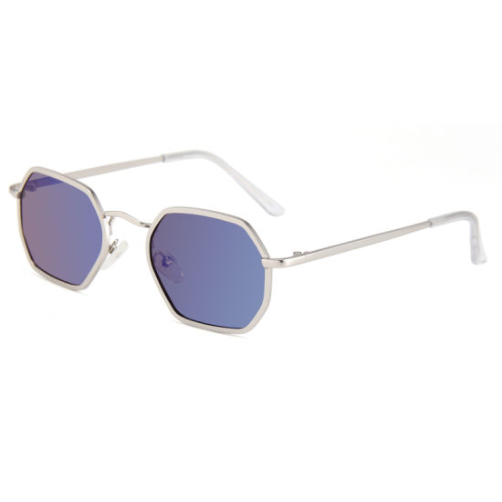 Rts Stock Metal Sun Glasses for Fashionable Ladies