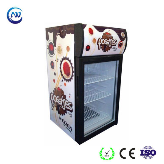 China Glass Door Small Refrigerator For Beverage Promotion Jga Sc42
