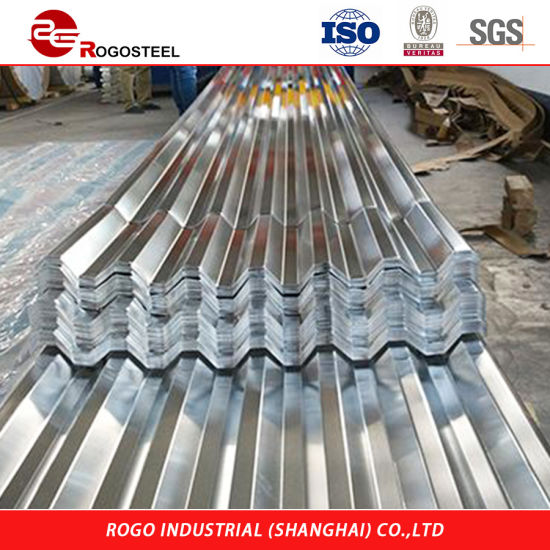 China Zinc Aluminium Sheet Thin Corrugated Steel Sheet Used Corrugated Roofing Sheets Sale China Steel Corrugated Sheet Roof