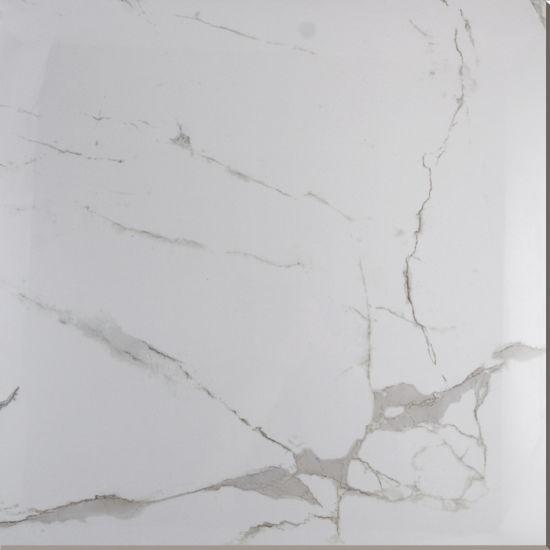 China One Design Six Faces Italian Calacatta White Marble Ceramic ...
