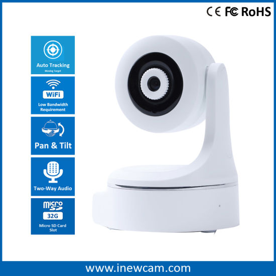 Wireless WiFi IP PTZ Security Camera for Smart Home Surveillance