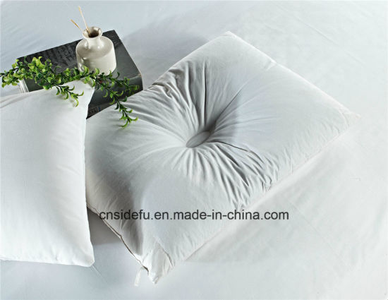Hollow Neck Protector Cheap Cotton Custom Pillow pictures & photos