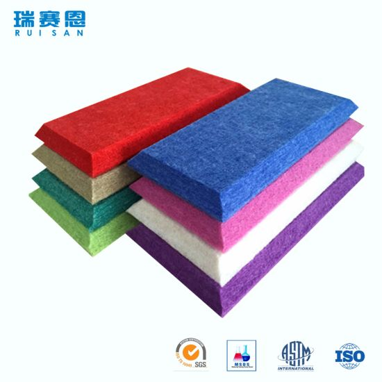 China Various Shapes Diy Acoustic Panel Fabric In Good Reputation