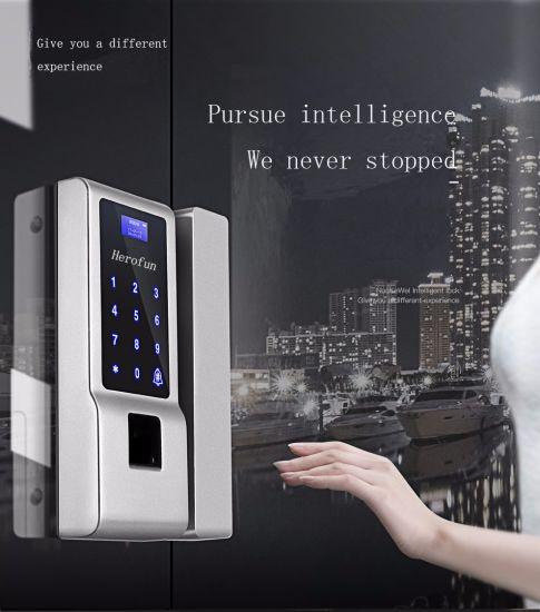 Smart Fingerprint Glass Secret Code Door Lock & China Smart Fingerprint Glass Secret Code Door Lock - China ...