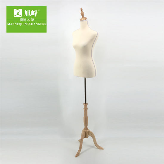 China Female Cheap Upper Body Mannequin Torso Stand For Sale