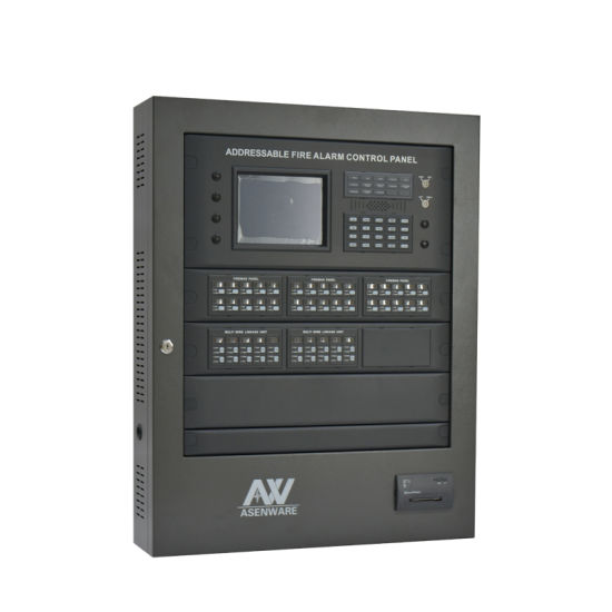 Asenware Manufacturer Addressable Fire Alarm Control Panel for Office Building pictures & photos