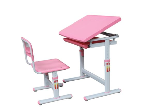 Cheap Price Plastic Kids Home Study Table And Chair Set Hyd001