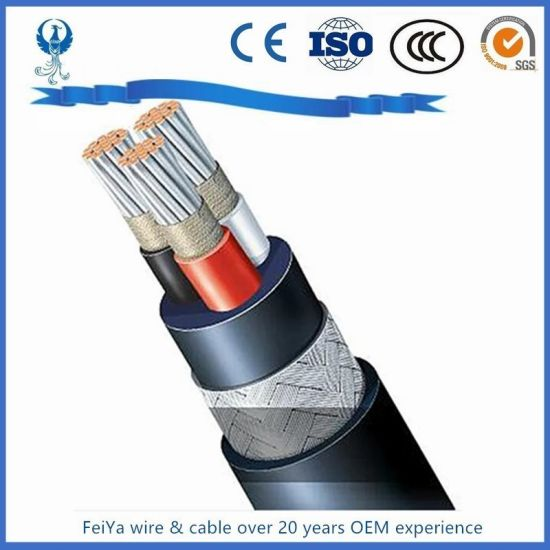 Marine Shipboard Epr/XLPE/PVC/Nr+SBR Insulatedpower Cable with ABS BV CCS Certificates