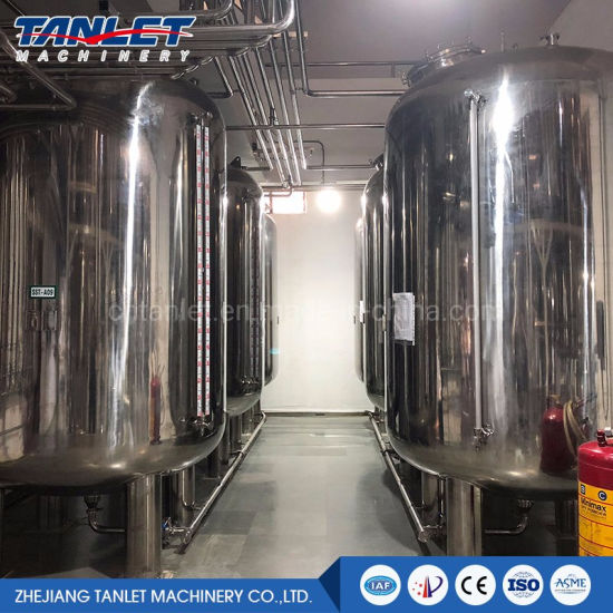 Hot Sale Stainless Steel Hot Water Tank for Beer Brewery