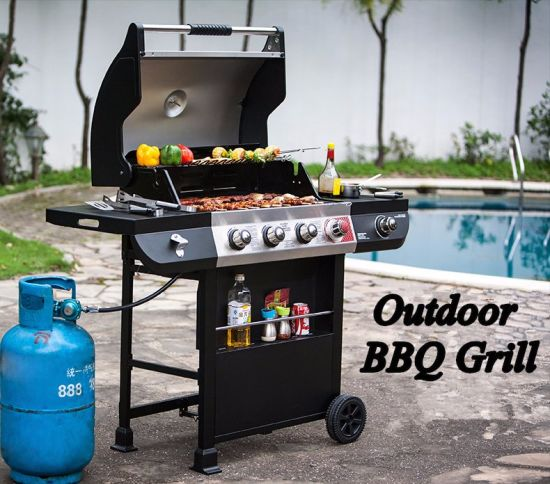 New Design Gas Stove Barbecue Grill Convenient Outdoor BBQ Oven