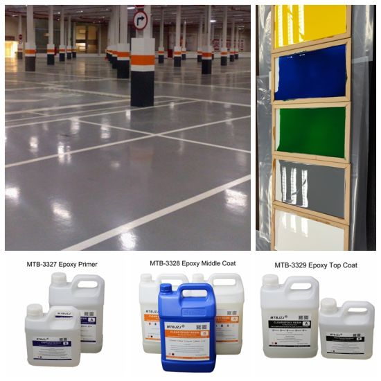 Non Toxic 100 Solid Epoxy Floor Kit