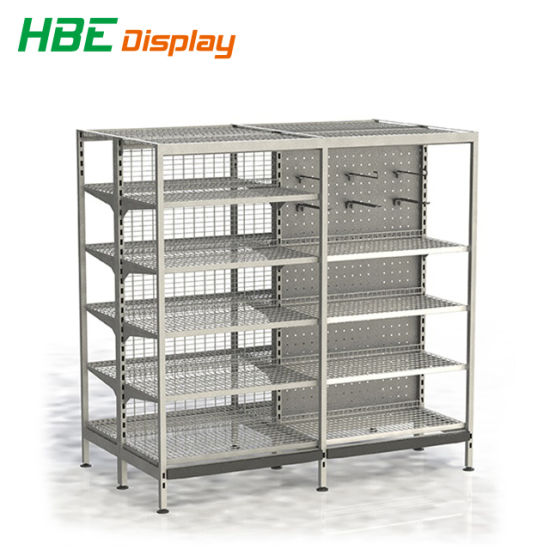 Grocery Shop Store Shelving Rack Round Shelf Gondola pictures & photos