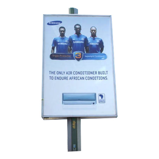 Road Sign Rotating Steel Structure Advertising Billboard pictures & photos