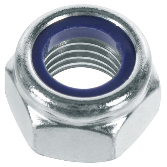 Zinc Plated Carbon Steel Nylon Lock Nut DIN985/DIN982 pictures & photos