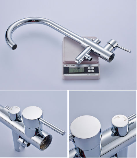 Flg Bathroom Mounted Freestanding Floor Standing Faucet pictures & photos