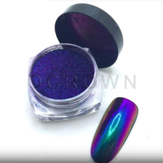Chrome Mirror Chameleon Nail Art Glitter Pigment