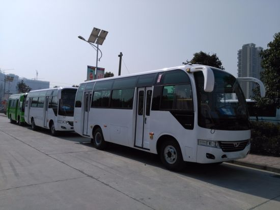 China 30-35 Seats Shuttle Bus City Bus Tourist Bus (SLG6750C3F) pictures & photos