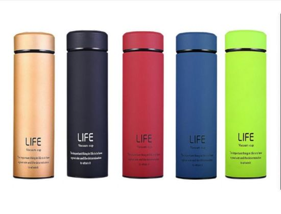 Double Wall Stainless Steel Vacuum Cup Tumbler Thermos Thermal Tea Vacuum Coffee Drink Mug