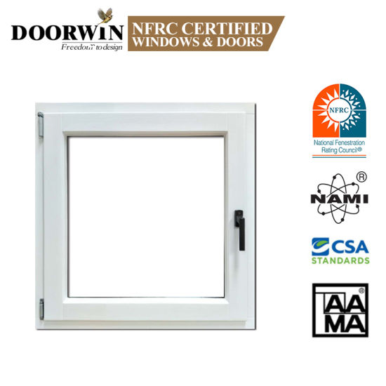 Large Designs Timber Frames Wooden Alu Clad Windows Tilt and Turn Casement Windows with Mosquito Net