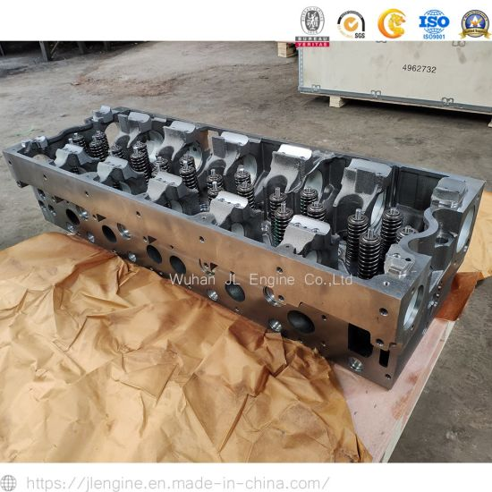 Isx15 Qsx15 Cylinder Head Cylinder Head with Valves Cylinder Head Assy 4962731 4962732