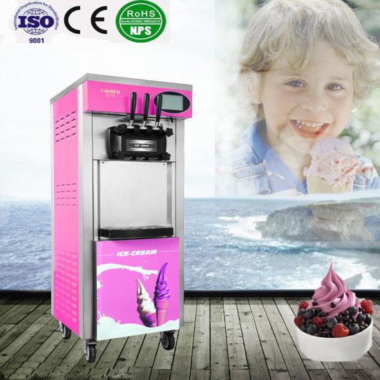 Excellent Big Producity Liquid Nitrogen Ice Cream Machine