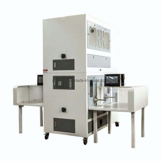 High Accuracy Full Automatic Duck Feather Filler Down & Feather Filling Jacket Machine
