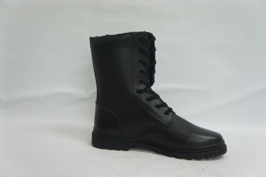 New Cheap Black Combat Boots Military