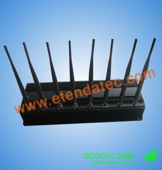 3watts 8 Band Powerful Cellphone Mobile Phone GPS GSM WiFi 3G 4G Signal Jammer