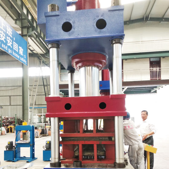 China Impact Extrusion Steel Plate Hydraulic Stamping Press