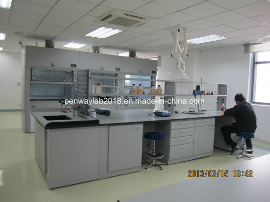 High Quality School Lab Furniture With Trespa Worktops