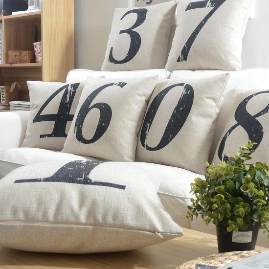 China Yrf Backrest Linen Cushion Cover