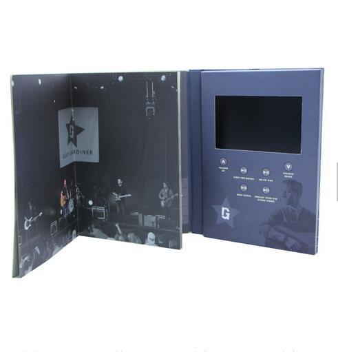 7 Inch TFT Screen Video Card/Brochure/Book pictures & photos