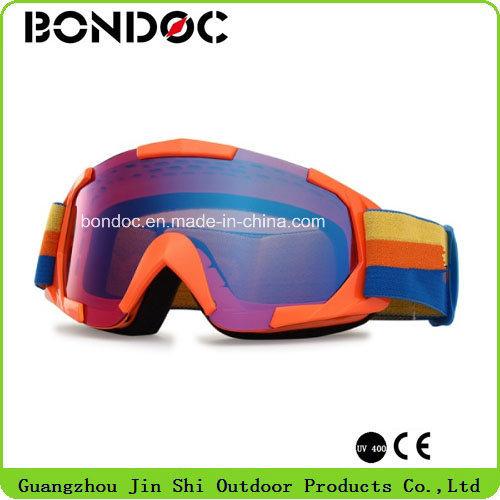 Custom Anti Slip Strap Motorbike Goggles Motocross Goggles