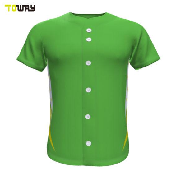 newest 5c49c fcf38 Wholesale Plain Cheap Sublimation Baseball Jerseys Shirts