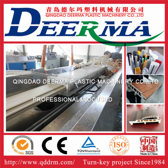 UPVC Window and Door Machinery WPC Profile Making Machine PVC Window Machinery  sc 1 st  Qingdao Deerma Plastic Machinery Co. Ltd. & China UPVC Window and Door Machinery WPC Profile Making Machine ...