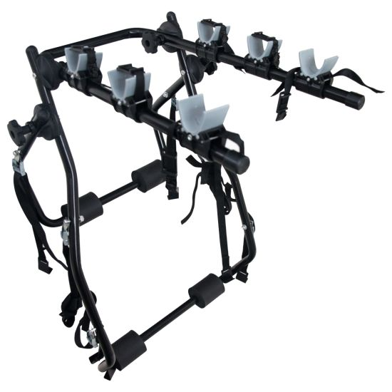 OEM High Quality Rear Door Camping Bicycle Rack Carrier Rack for 3 Bicycle Bike Rack pictures & photos