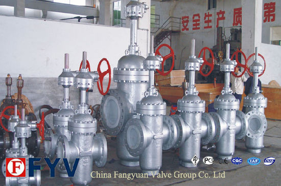 ISO9001 Cast Iron Slab Gate Valves pictures & photos