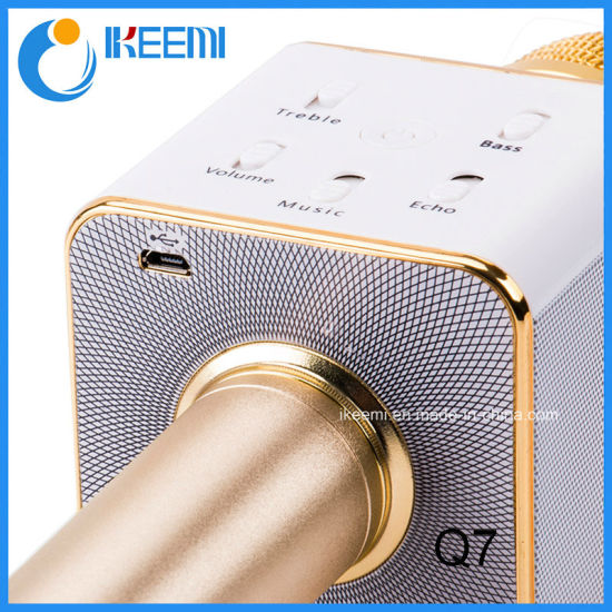 2016 New Design Microphone Q7 Wireless Microphone pictures & photos