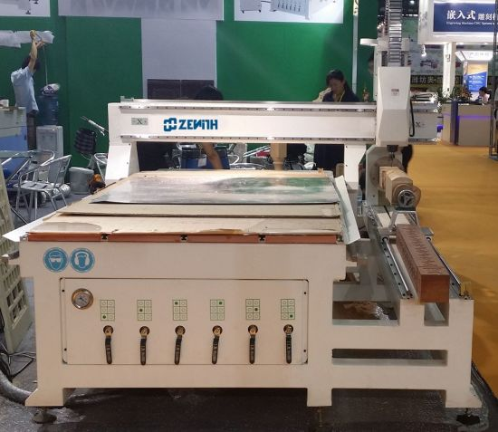 Woodworking CNC Machine with 3D Engraving Rotary Attachment (XE1325) pictures & photos