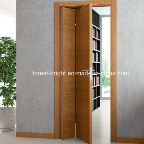 China Soundproof Accordion Wooden Door For Study China Soundproof