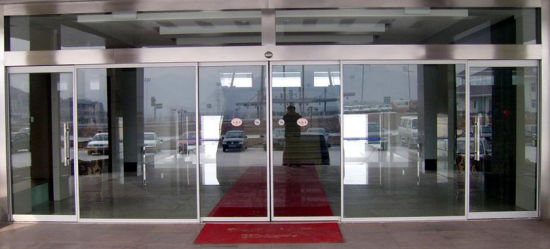China Last Price And Safe Automatic Glass Sliding Door Ds 100